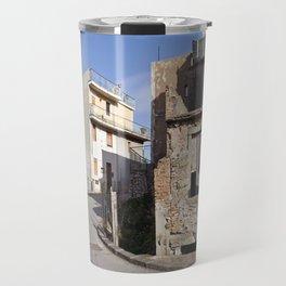 Little Village at the Sea - Forza d'Agro - Sicily  Travel Mug