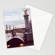 Pont Alexandre III Paris. Stationery Cards