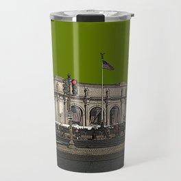 Capitol Hill, Union Station, Washington, DC Travel Mug