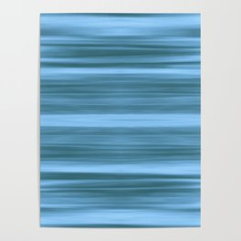 Abstraction Serenity in Ocean Poster