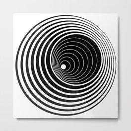 Illusion No1 Metal Print