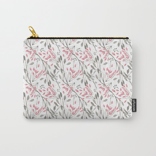 Delicate Floral Pattern 04 Carry-All Pouch