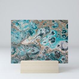 Beach Shallows 5 Mini Art Print