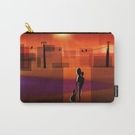 The warm walk home Carry-All Pouch