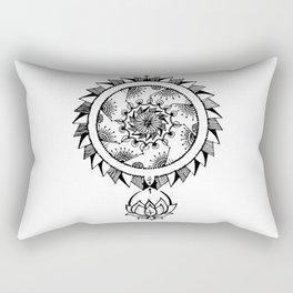 Henna Doodle Thing 2 Rectangular Pillow