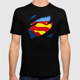 superhero torn - SuperMan T-shirt