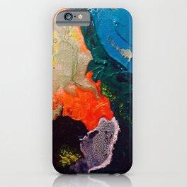 El Nino Abstract iPhone Case