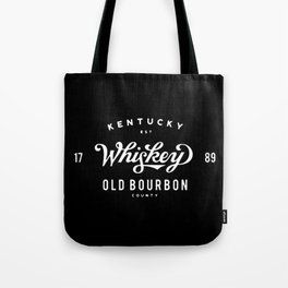 Old Bourbon Whiskey Tote Bag
