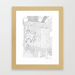 beegarden.works 012 Framed Art Print