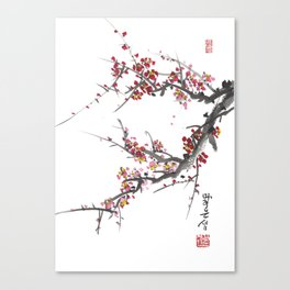 Cherry Blossom One Canvas Print