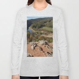 Sparrowhawk Mountain Series, No. 8 Long Sleeve T-shirt