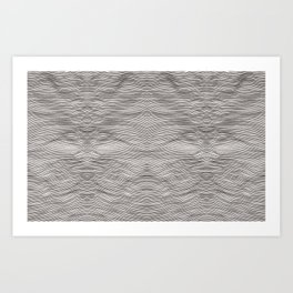 Coverall Waves Art Print