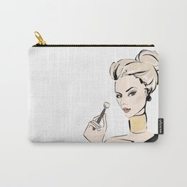Makeup girl Carry-All Pouch