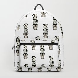 Penguin totem Backpack