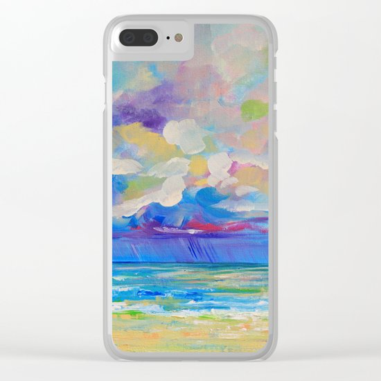 Storm over Alma Clear iPhone Case