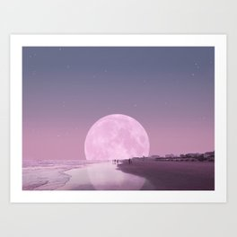 Beach dreams Art Print