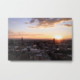San Miguel de Allende at Sunset : Heart of Mexico Metal Print