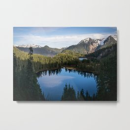 Anderson-Watson Lakes Metal Print