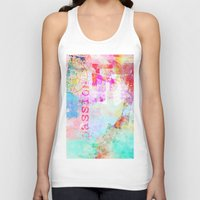 passion Tank Tops featuring Passion by LebensART