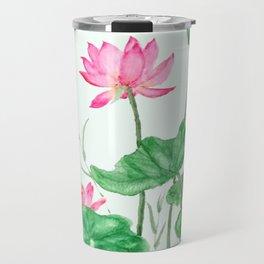 lotus flower Travel Mug