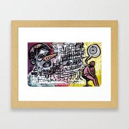Sketchbook003 Framed Art Print
