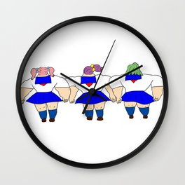 GIRLS | Takahashi-chan Wall Clock