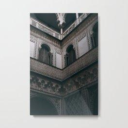 Royal Alcázar, Seville Metal Print