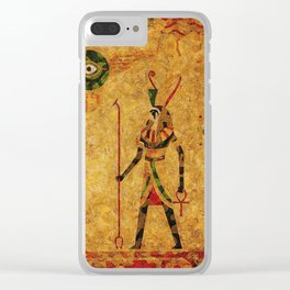 Egyptian Gods Clear iPhone Case