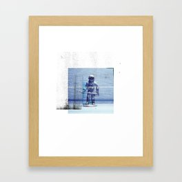 Space Explorer Framed Art Print
