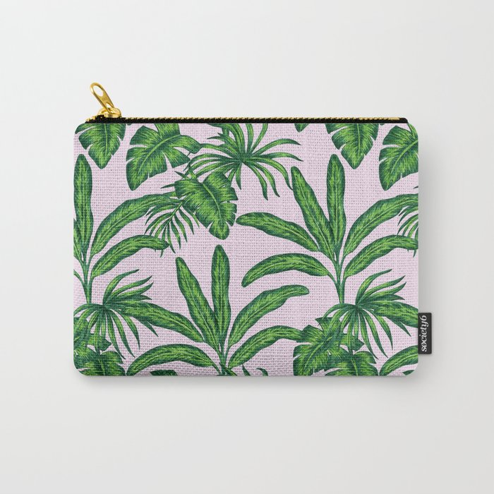 banana trees marker pattern Carry-All Pouch