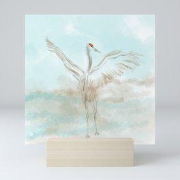 Sandhill crane Mini Art Print