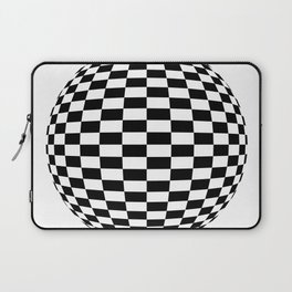 Blender Checkersphere 2 Color Laptop Sleeve