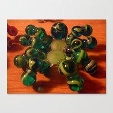 Green Spider Canvas Print