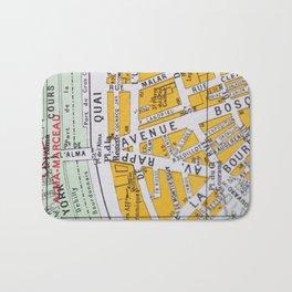 Paris Streets 3 Bath Mat