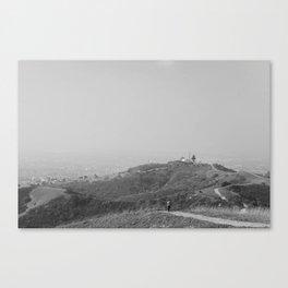 Trails in Whittier, CA Canvas Print