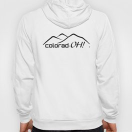 Colorad-OH! Creative Fun Wear Hoody