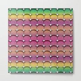 Circles - Mulitcolor Metal Print