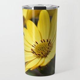 Yellow African daisy Travel Mug