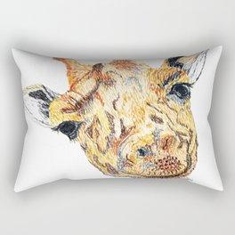 Hi giraffe Rectangular Pillow