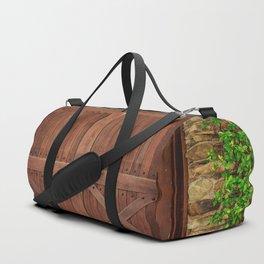 Door and Ivy Backdrop Duffle Bag