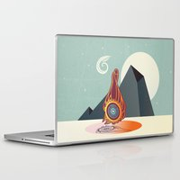 zodiac Laptop & iPad Skins featuring The zodiac by /CAM