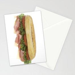 Deli Sandwich Stationery Cards