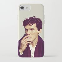 ben giles iPhone & iPod Cases featuring Ben by Grace Teaney Art