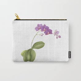 Flowering purple phalaenopsis orchid Carry-All Pouch