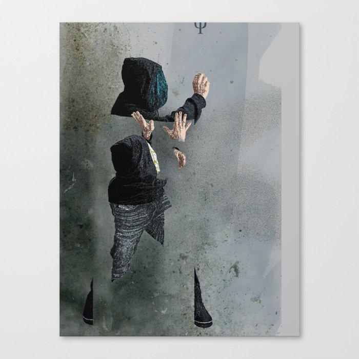 String Theory: Collapsing Wavefunction, Second Tangible Canvas Print