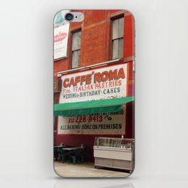 Caffe Roma, Little Italy NYC iPhone Skin