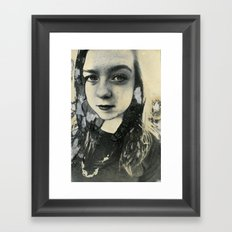 Megan (Mordancage) Framed Art Print