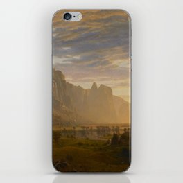 Looking Down Yosemite Valley, California iPhone Skin