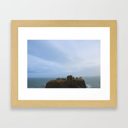 Dunnottar Castle - Scotland Framed Art Print
