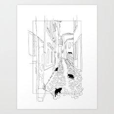 ARA Art Print